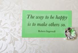 gjøre andre glad